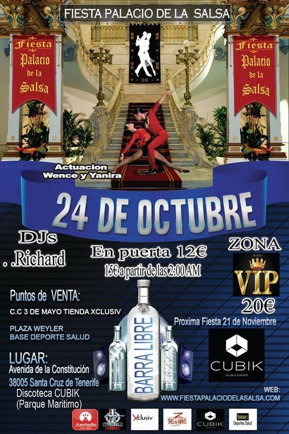 Fiesta Palacio de la Salsa