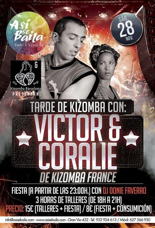 Kizomba Barcelona VIP Party - Victor & Coralie Kizomba Francia