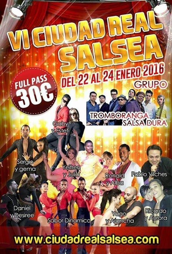 Ciudad Real Salsea 2016 (VI Edition)
