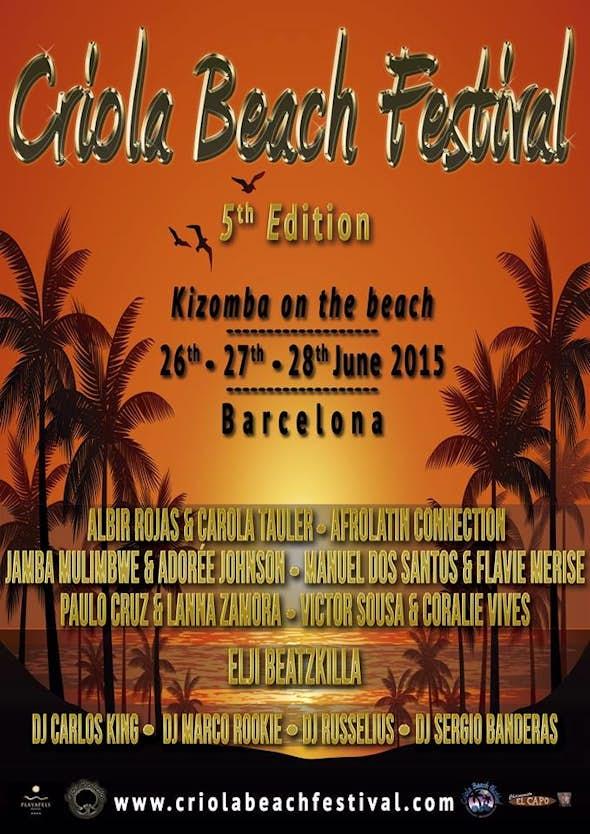 Criola Beach Festival 2015 (5ª Edición)