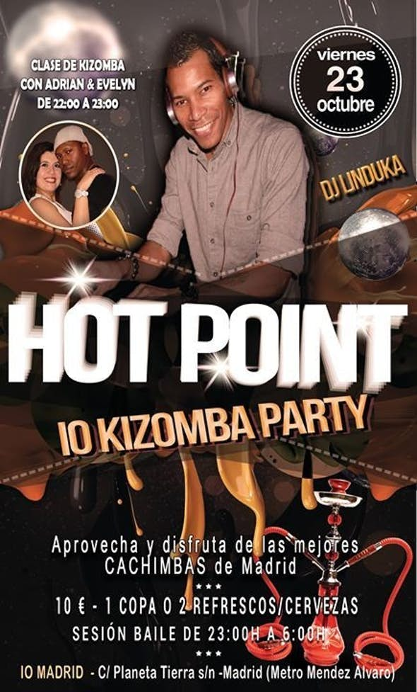 HOT POINT - IO KIZOMBA PARTY - FRIDAY 23 OF OCTOBER
