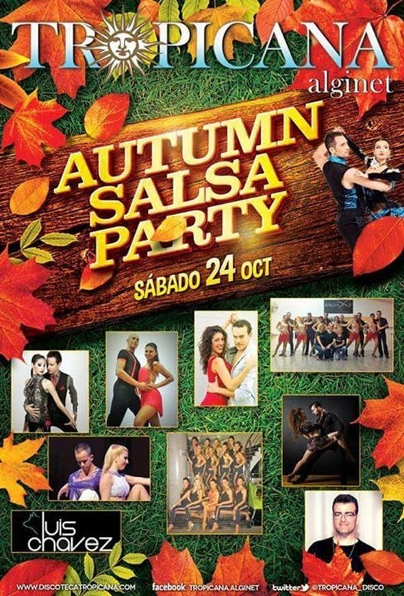 TROPICANA AUTUMN SALSA PARTY