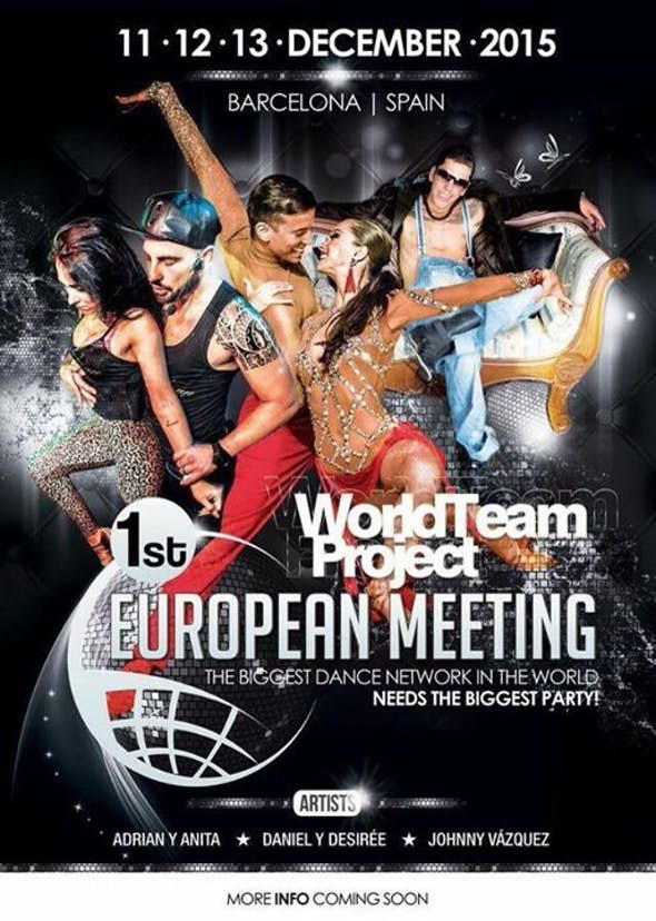 World Team Project - 1º EUROPEAN MEETING