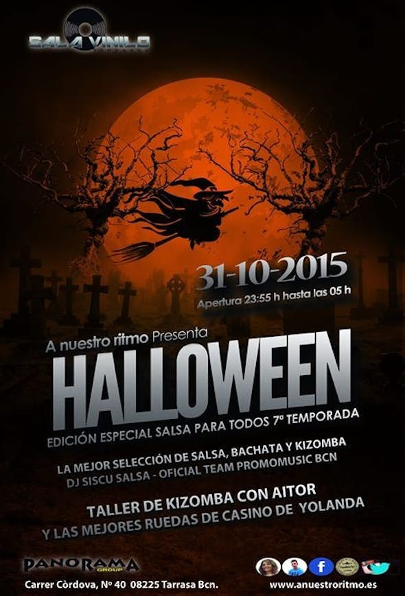 SALSA FOR EVERYBODY 7ª SEASON, ESPECIAL HALLOWEEN