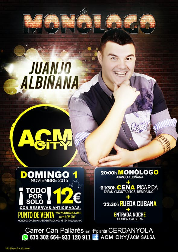 Monólogue Juanjo Albiñana