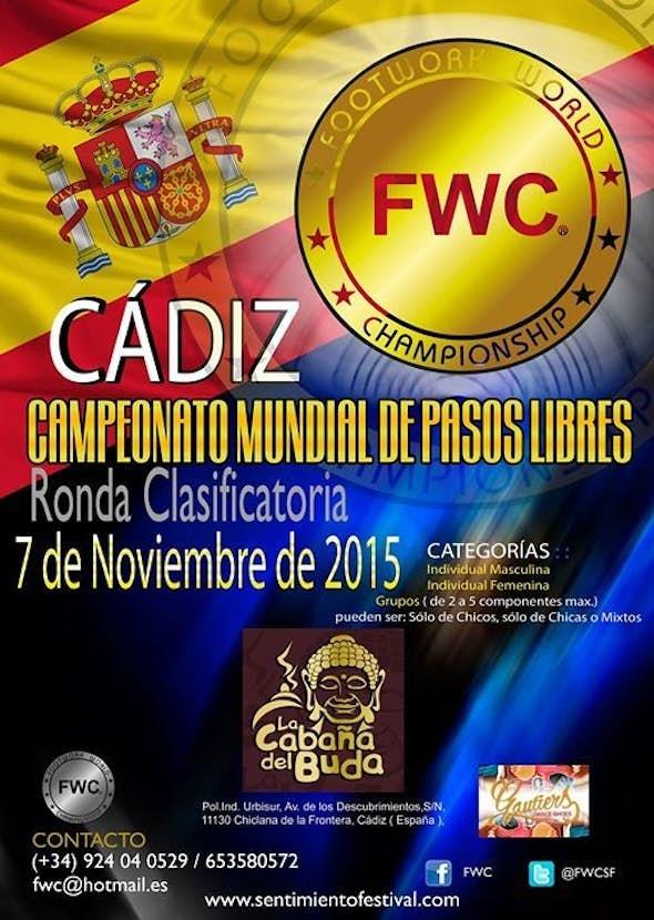 QUALIFYING FWC - CÁDIZ - 7th of November 2015