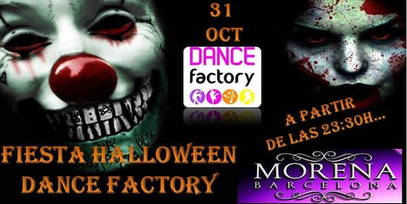 SATURDAY, 31st of October HALLOWEEN PARTY IN LA MORENA!!!!!