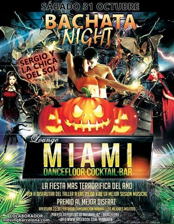 HALLOWEN BACHATA NIGHT