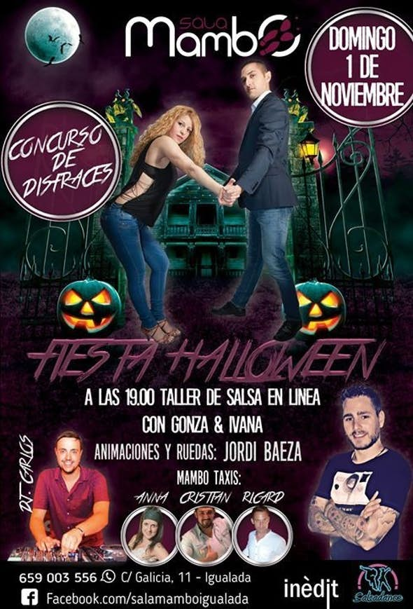 Halloween Domingo 01 de Noviembre en Sala Mambo by Inedit