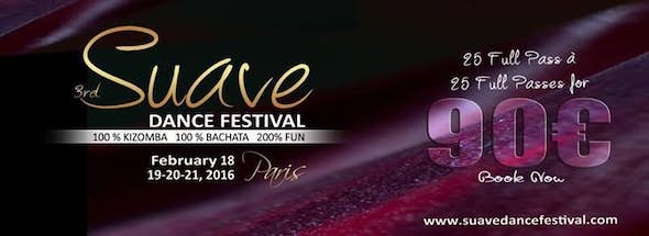 Suave Dance Festival Paris 2016 (3rd Edition)