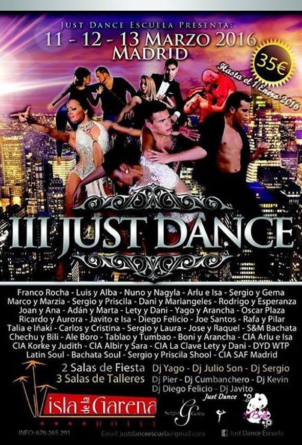 Just Dance Madrid 2016 (3rd Edition)