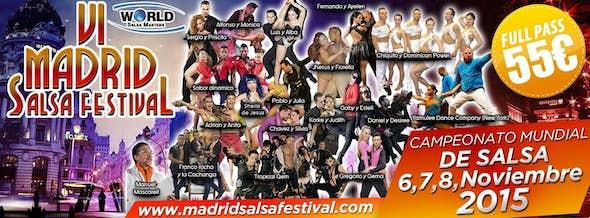 Madrid Salsa Festival 2015 (6ª Edición)