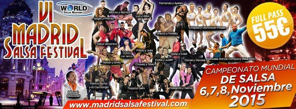 Madrid Salsa Festival 2015 (6th Edition)