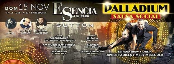 ESENCIA S.C. PRESENTS: PALLADIUM SALSA SOCIAL FEST: RELEASE!!! SHOWS and WORKSHOPS