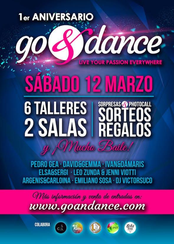 1er Aniversario de go&dance