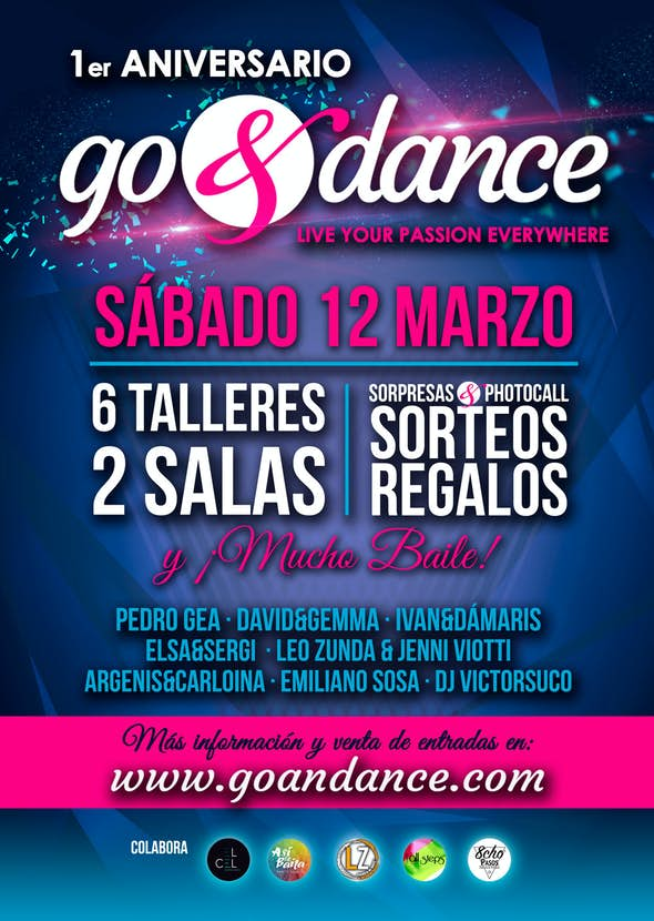 1st Anniversary of go&dance