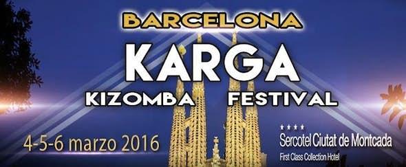 Karga Kizomba Festival 2016 (1ª Edición)