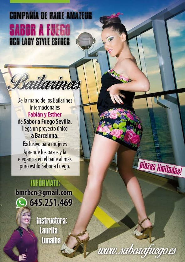 "Company dancers for ""Sabor a Fuego Bcn Style Lady Esther"" Wanted"