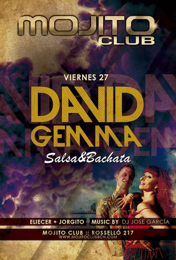 SALSA AND BACHATA WITH DAVID & GEMMA