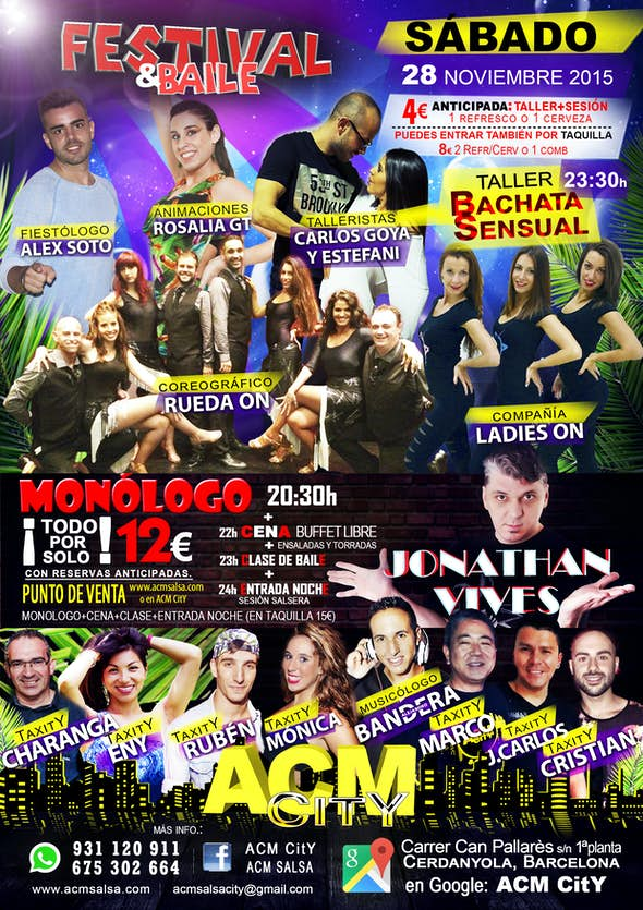 Saturday 28th: TOTAAAAL PARTY!!!