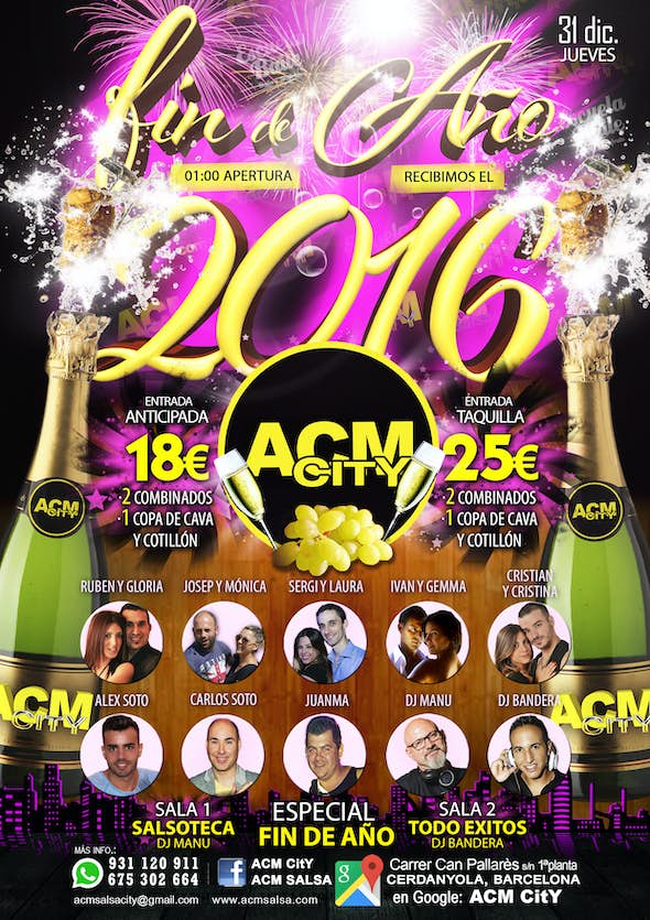 New Year's Eve in ACM CitY