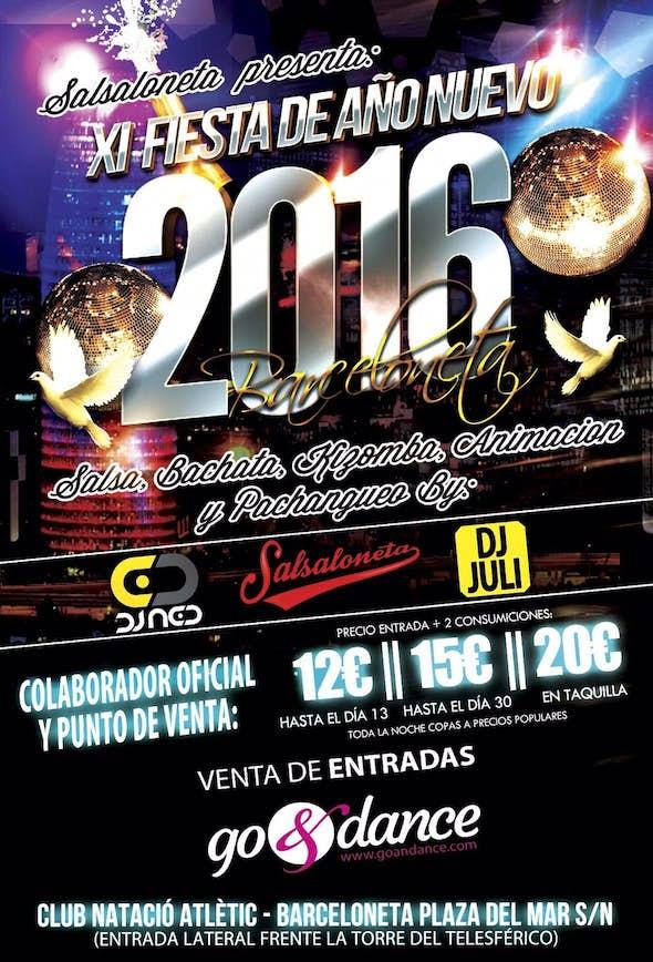 11ª New Year's Eve Salsaloneta Party