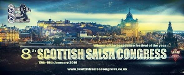 El 8º Scottish Salsa Congress