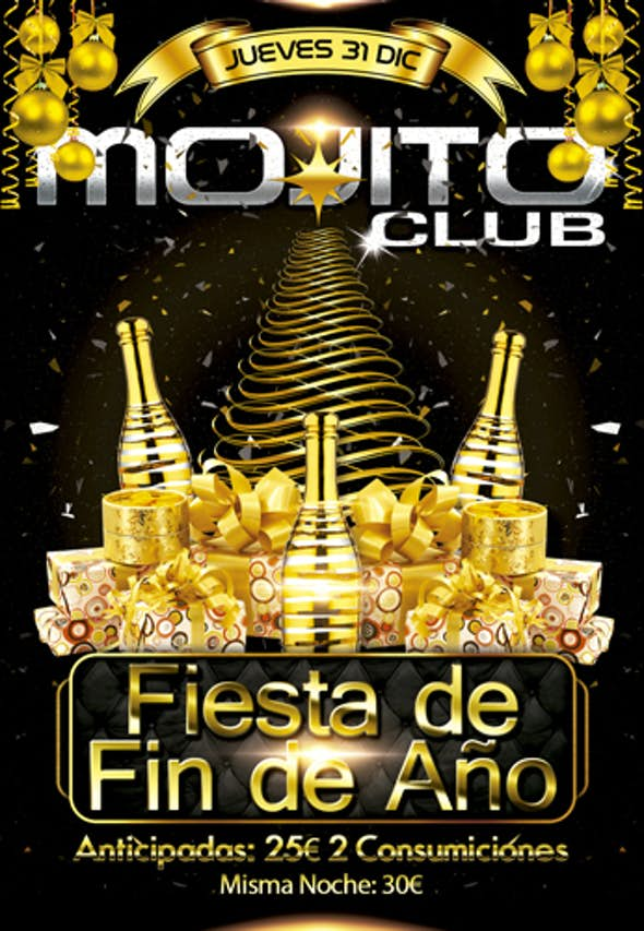 NEW YEAR'S EVE IN MOJITO