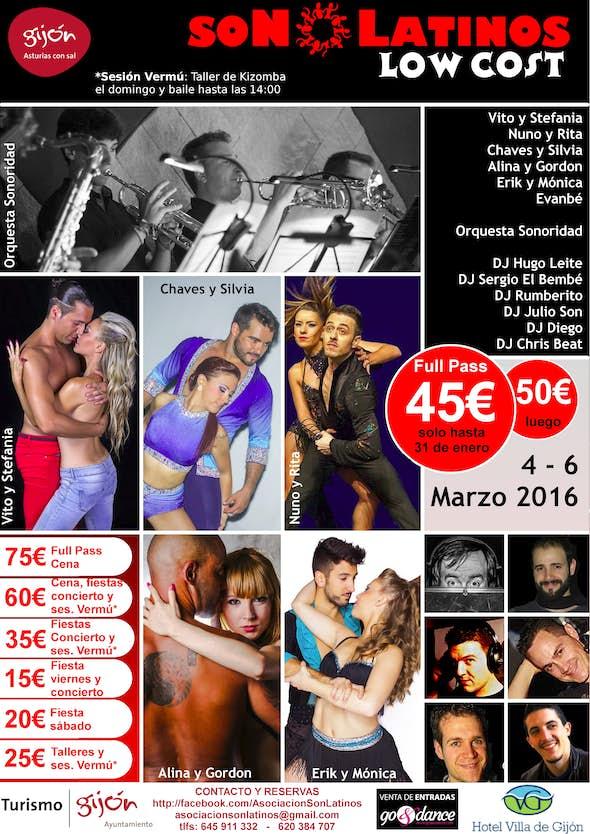 Son Latinos Low Cost 2016 (7ª Edición)