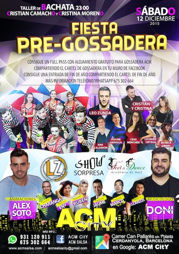 Pre-GOSSADERA Party
