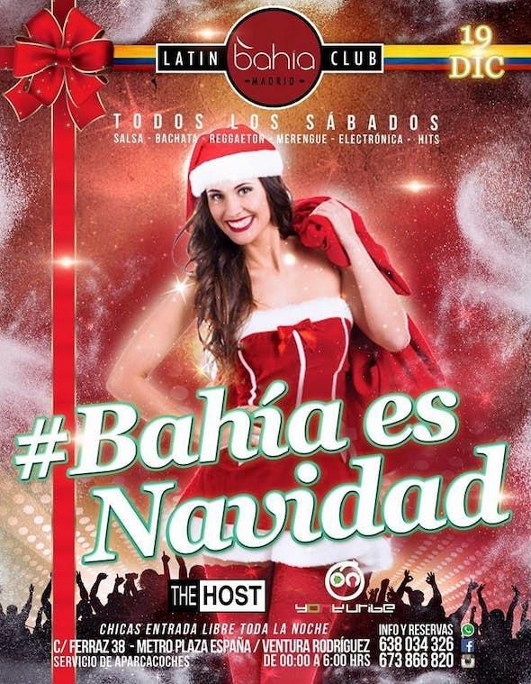 Bahia Madrid #BahiaEsNavidad