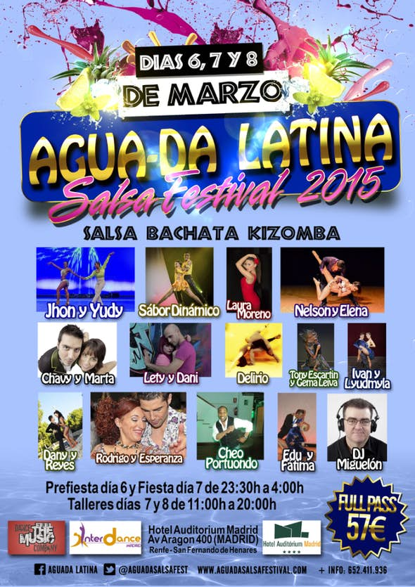 Agua-Da Latina Salsa Festival 2015