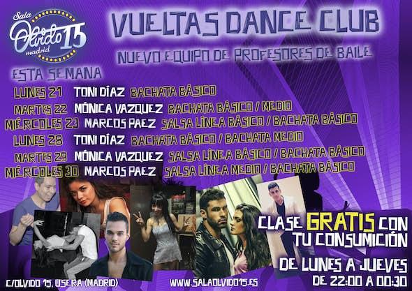 Salsa Classes at Olvido 15