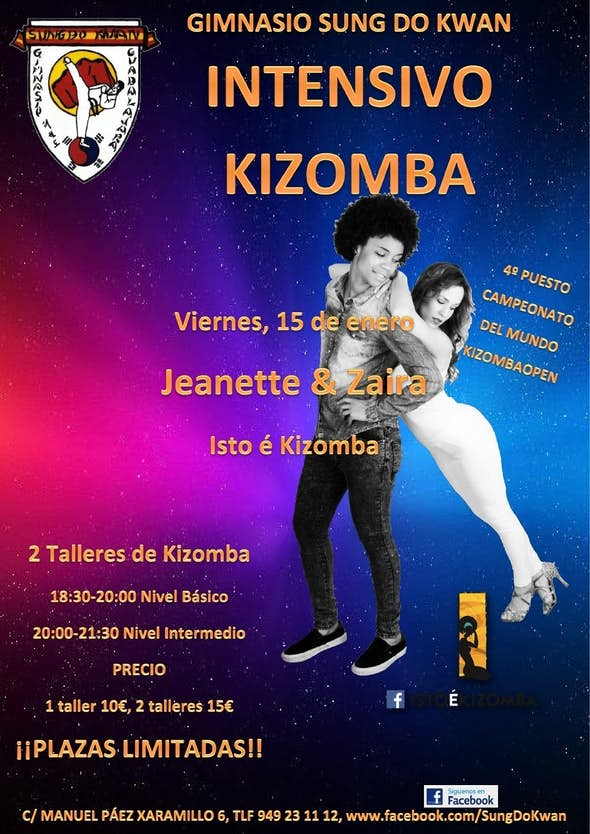 Kizomba intensive with Jeanette&Zaira