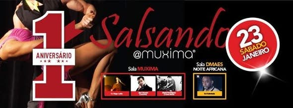 Salsando@Muxima 8 - 1º Anniversary!