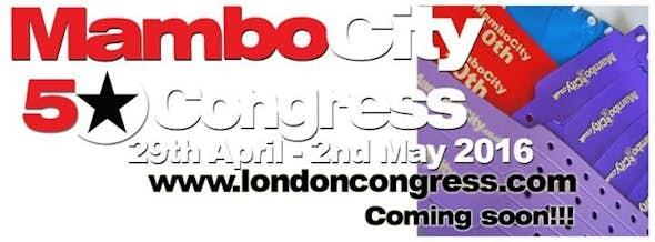 Mambo City 5Star London Salsa Congress 2016 (13ª Edición)