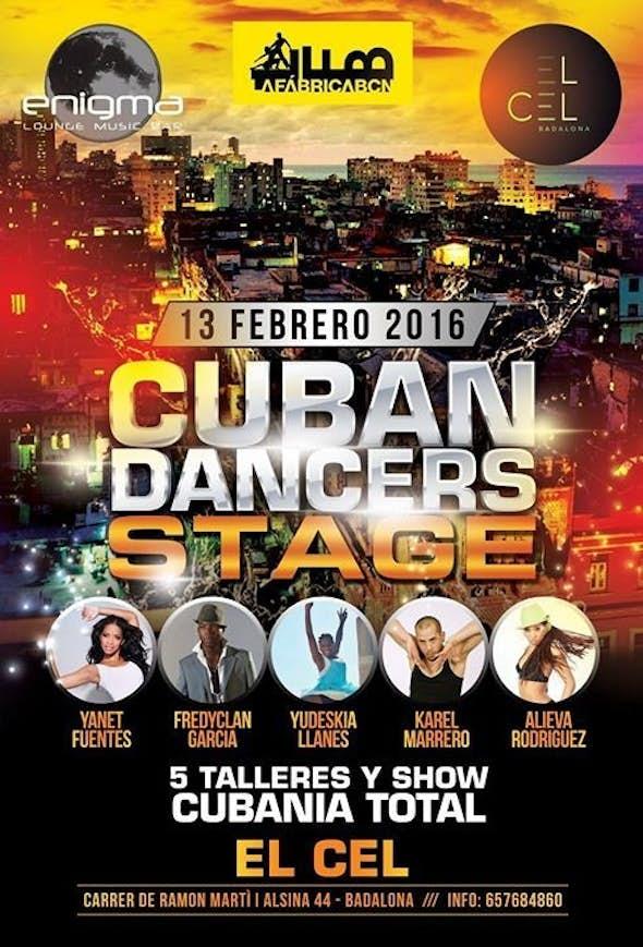 Cuban Dancers Stage