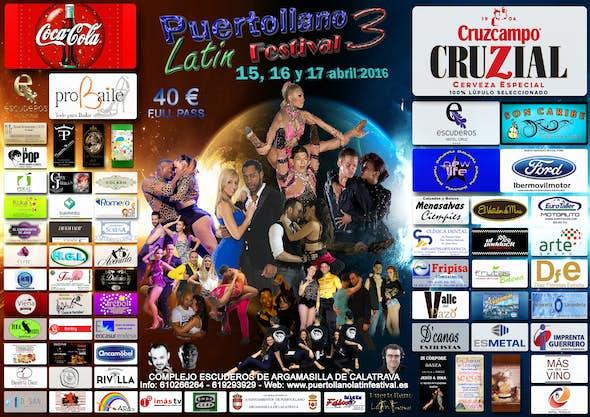 III PUERTOLLANO LATIN FESTIVAL 2016