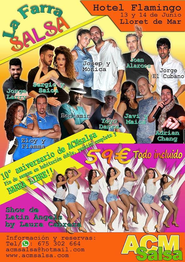 The Farra Salsa 2015