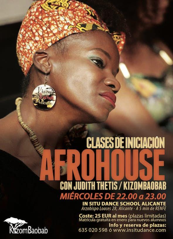 Clases de AfroHouse - Iniciación   ALICANTE