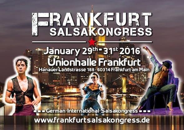 Frankfurt Salsa Kongress January 2016