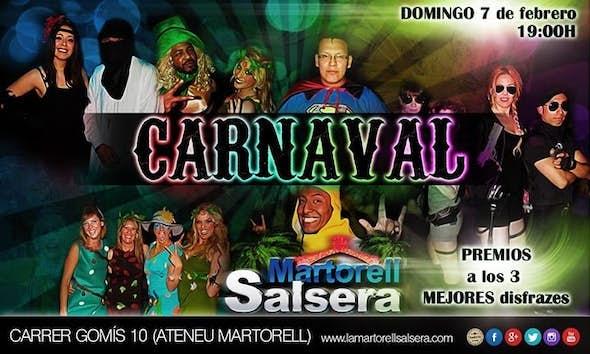 CARNAVAL en La Martorell Salsera!!