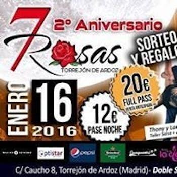 7 ROSAS SALSA