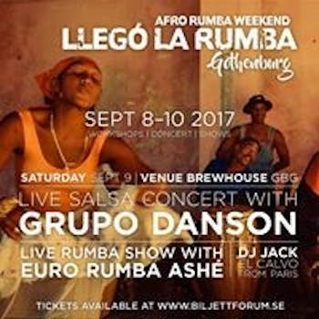 Llegó la Rumba - Afro Rumba Weekend