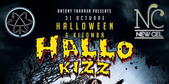 HalloKizz - Halloween Kizomba Party - 31st October at New Cel