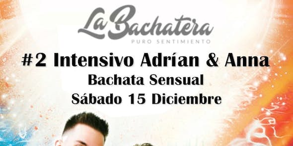 Bachata workshop with Adrián and Anna - December 15th 2018
