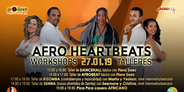 Afro Heartbeats Talleres - 27.01.2019