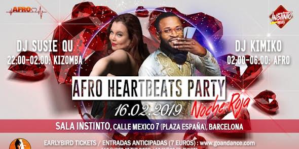 Fiesta Afro Heartbeats 16.02.2019 - Noche Roja