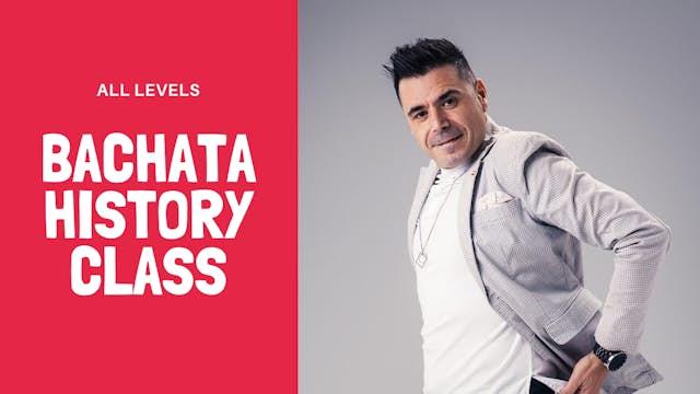 Bachata History Class