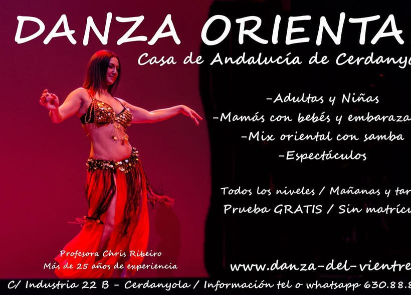 Escuela de Danza del Vientre Chris Ribeiro